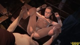 STAR WARS Battlefront II SFM PORN 2019 - REY - HD 720p