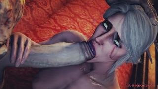 26RegionSFM The Witcher SFM Ciri And The Zombie Monster Sex HD 720p