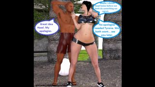 3D Sex Comic: Hotwife Cuckolds Husband With Personal Trainer Part 1