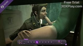 NEW Video Game Corporal Green Sucking SFM