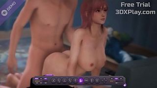 Dead or Alive Honoka Hardcore Fucked Big Dick Animation 2019